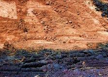 Предпосылка текстуры почвы Стоковые Фото
