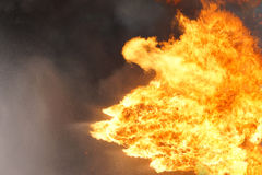 Предпосылка текстуры пламени огня Стоковые Изображения