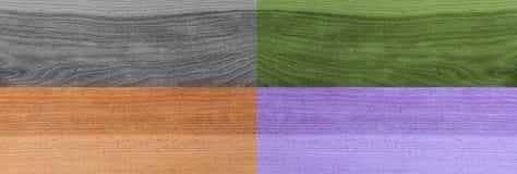 Предпосылка текстуры планки Grunge деревянная Коллаж деревянных поверхностей Стоковые Изображения