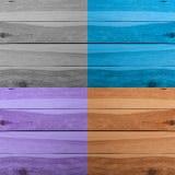 Предпосылка текстуры планки Grunge деревянная Коллаж деревянных поверхностей Стоковое Фото