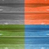 Предпосылка текстуры планки Grunge деревянная Коллаж деревянных поверхностей Стоковая Фотография RF