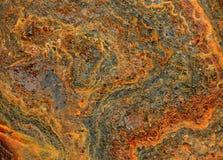 Предпосылка текстуры ржавчины абстрактная Стоковое фото RF