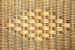 Предпосылка текстуры старого weave плетеная Стоковое Изображение