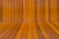Предпосылка текстуры стены деревянная Стоковая Фотография