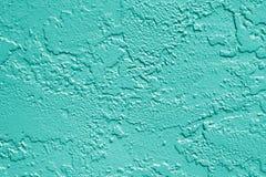 Предпосылка текстуры стены Teal зеленая Стоковая Фотография RF