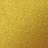 Предпосылка текстуры сусального золота Стоковая Фотография RF