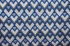 Предпосылка текстуры тайской ткани родная Стоковые Изображения RF