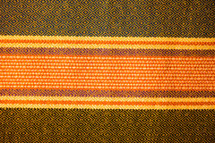 Предпосылка текстуры тайской ткани родная Стоковые Изображения