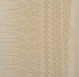 Предпосылка текстуры: Текстура картины общее традиционное тайского Стоковые Фотографии RF