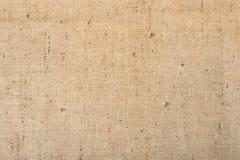 Предпосылка текстуры ткани мешковины Стоковая Фотография RF