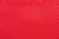 Предпосылка текстуры ткани полиэстера Пластичное Пэт ткани weave Стоковое фото RF