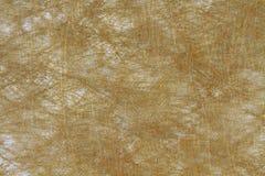 предпосылка текстуры хлопко-бумажной ткани коричневой ткани ткани Стоковые Фотографии RF