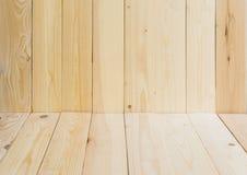 Предпосылка текстуры Brown деревянная Стоковая Фотография RF