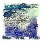 Предпосылка текстуры Grunge голубая абстрактная Стоковое Изображение RF