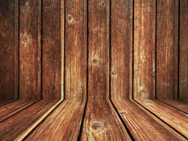 Предпосылка текстуры Grunge деревянных доск Стоковые Изображения