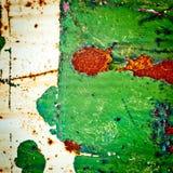 Предпосылка текстуры Grunge металл ржавый Стоковое Изображение RF
