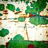 Предпосылка текстуры Grunge металл ржавый Стоковые Изображения