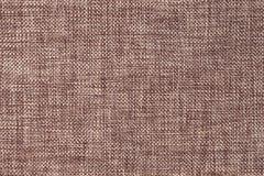 Предпосылка темного коричневого цвета плотной сплетенной кладя в мешки ткани, крупного плана Структура макроса ткани Стоковое Изображение RF