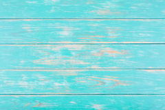 Предпосылка темной бирюзы деревянная Стоковые Фотографии RF