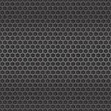 Предпосылка темной клетки металла безшовная Стоковые Изображения RF