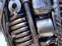 Предпосылка темы steampunk, продукции технологии Стоковая Фотография RF