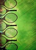 Предпосылка тенниса Стоковое фото RF