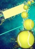 Предпосылка тенниса Стоковая Фотография