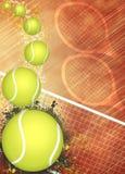 Предпосылка тенниса Стоковые Фотографии RF