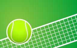 Предпосылка тенниса Стоковые Изображения