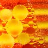 Предпосылка теплых цветов абстрактная Стоковое Изображение