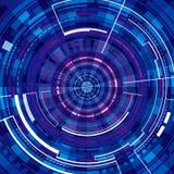 Предпосылка технологии виртуальная Стоковая Фотография RF