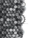 Предпосылка технологии, идея решения глобального бизнеса Стоковая Фотография RF