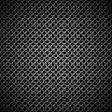 Предпосылка с безшовной черной текстурой углерода Стоковые Изображения