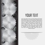 Предпосылка технологии с знаком тонкого абразивного круга бесплатная иллюстрация