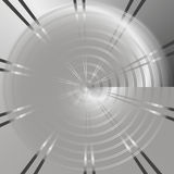 Предпосылка технологии с metalпефорированным кругом Стоковые Изображения