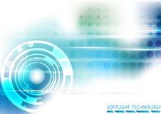 Предпосылка технологии Softlight Стоковая Фотография RF