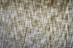 Предпосылка ткани джута. Стоковая Фотография