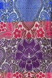 Предпосылка ткани саронга Стоковое Изображение
