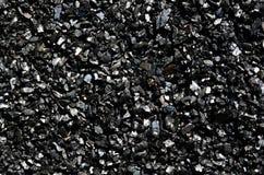 Предпосылка точного сияющего угля конца-вверх угля антрацита Стоковые Фотографии RF