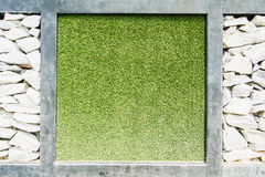 Предпосылка травы,   предпосылка лист весны зеленая Стоковые Фото