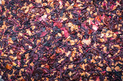 Предпосылка травяного чая вишни Стоковые Изображения