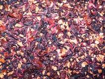 Предпосылка травяного чая вишни Стоковая Фотография RF