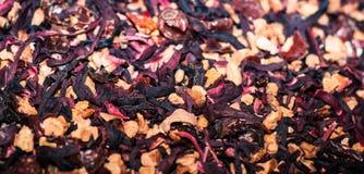 Предпосылка травяного чая вишни Стоковые Фото
