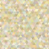 Предпосылка треугольника абстрактная желтого цвета Стоковые Фотографии RF
