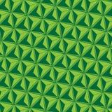 Предпосылка треугольника абстрактная зеленая Стоковое Изображение RF