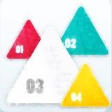 Предпосылка треугольника вектора. Объект цвета иллюстрация штока