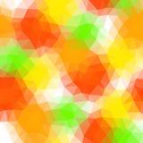 Предпосылка треугольника лета иллюстрация вектора