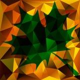 Предпосылка треугольника осени абстрактная бесплатная иллюстрация