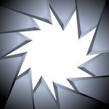 Предпосылка треугольника Иллюстрация вектора