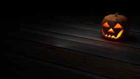 Предпосылка тыквы хеллоуина - версия обоев Стоковое Изображение